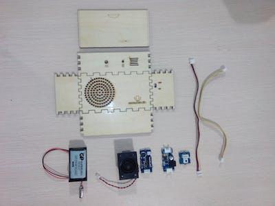 Wooden Recording Box