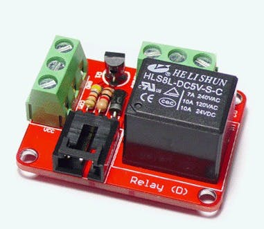 Arduino 5V Relay module (Digital) with Mains Power