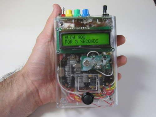 The Talking Breathalyzer