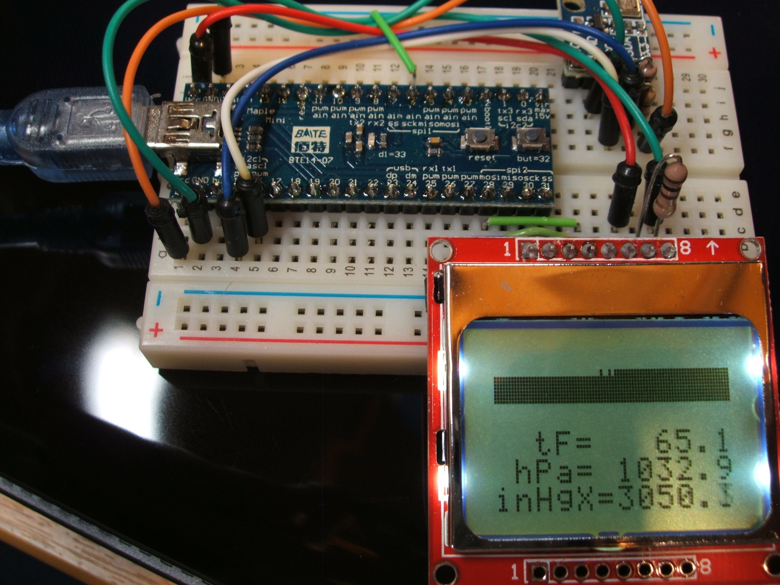 BMP180  Barometer on ARM 32-bit under Arduino 1.6.0