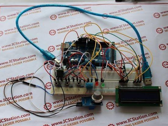 DIY Temperature & Humidity & Smoke Detector Alarm System