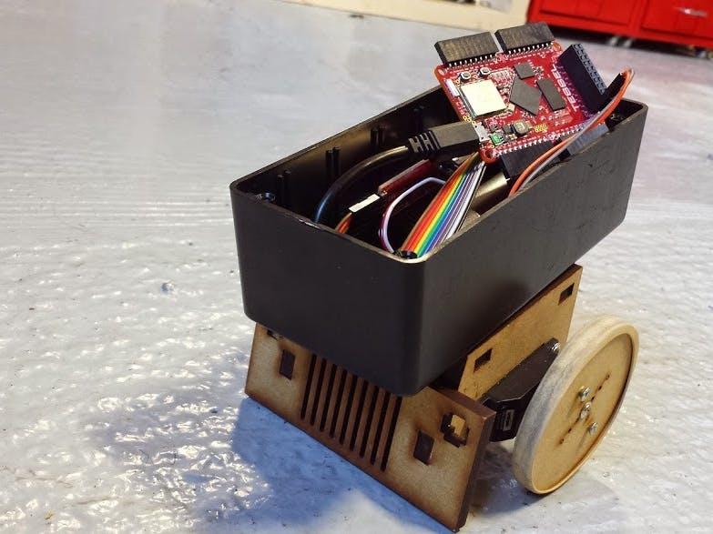Tesselbot: RC Sumobot