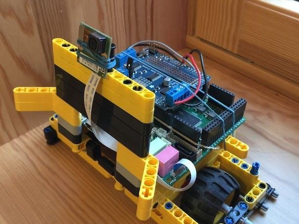 UDOO Vision, the Stalker Robot