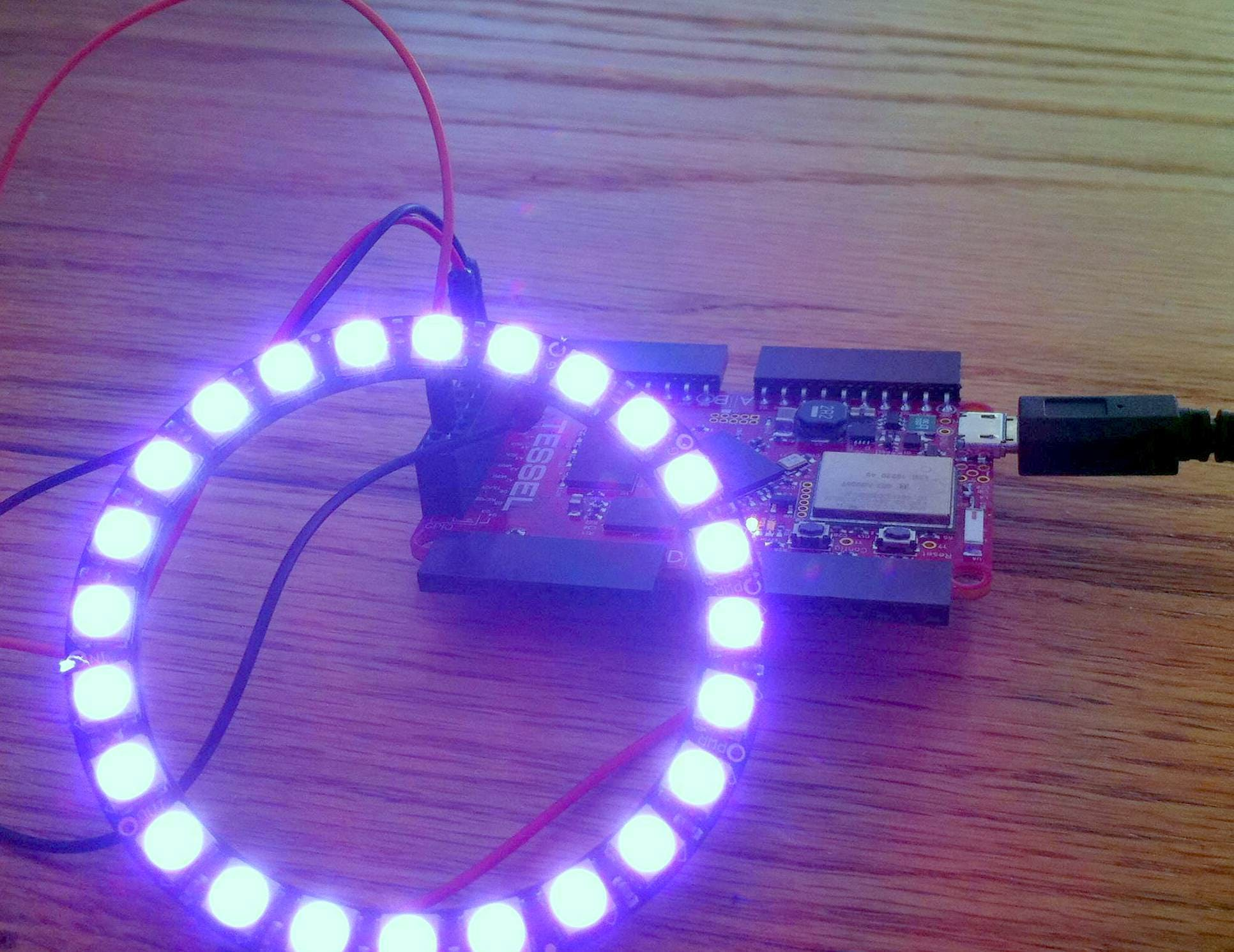 Websocket NeoPixels
