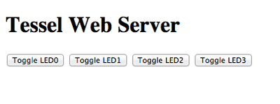 Routing + Websockets on Tessel
