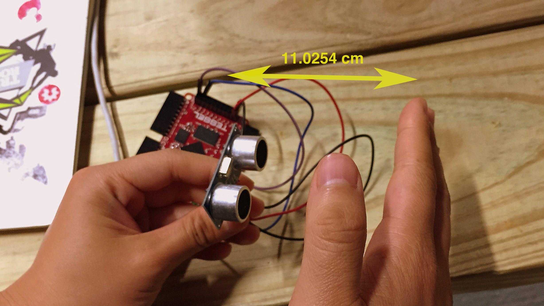 Proximity Sensing on Tessel with proximity-hcsr04