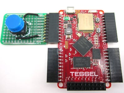 Tessel Button DIY Module