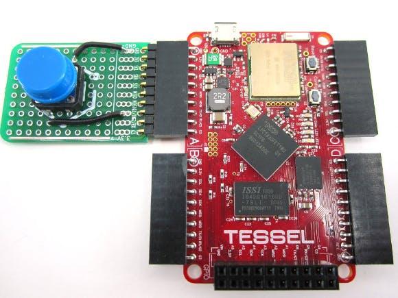 Tessel Button DIY Module