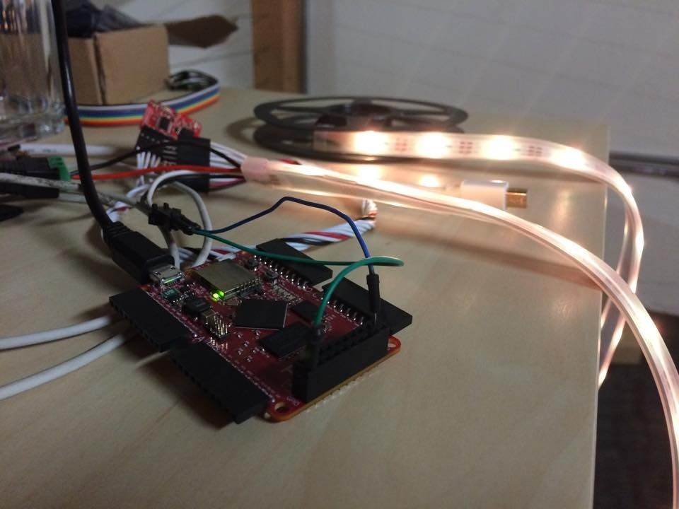 npx: Neopixels for Tessel, made easy