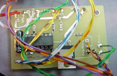 LED Strobe using 555 timer