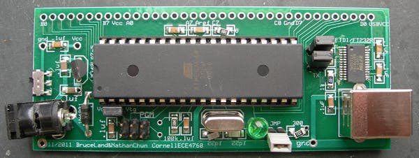 ATmega prototype board