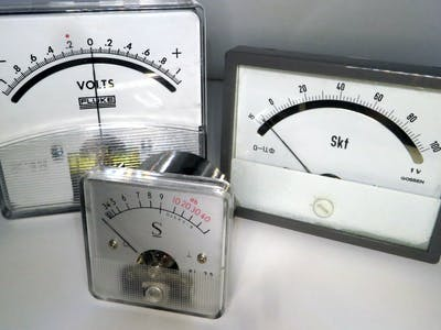 MSP430 Analog Gauge Control in C
