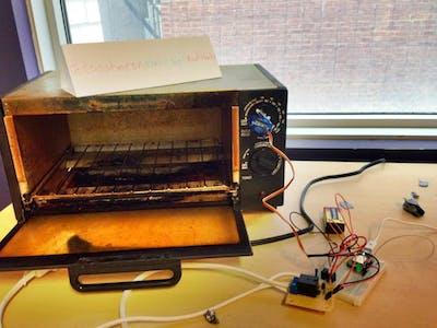 ToastMeOn - SMS Toaster Oven