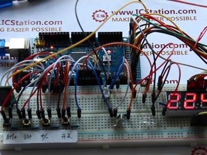 Photosensitive Timing Infrared LED Control System