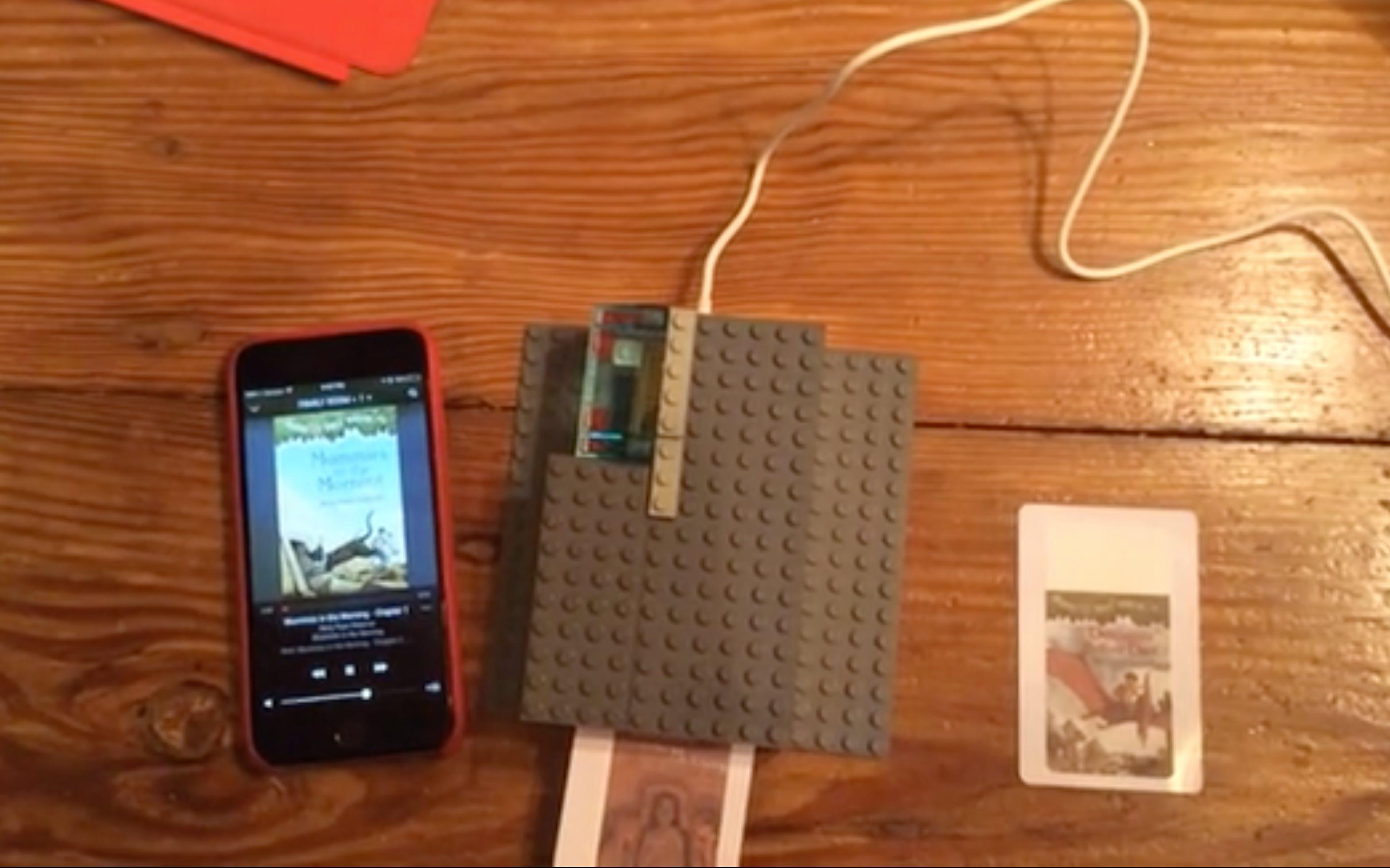 An RFID card based jukebox, using Sonos