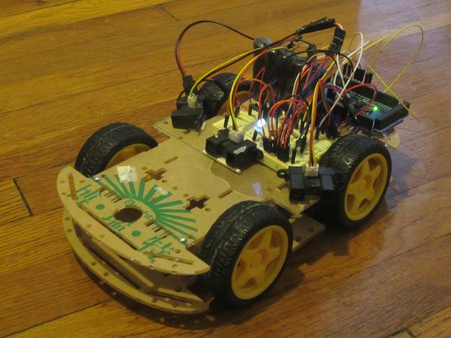 Autonomous obstacle avoiding car