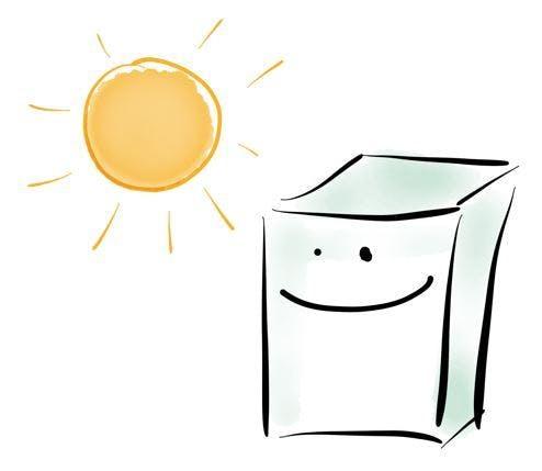The Sunny Dishwasher