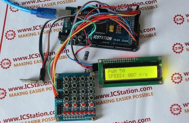 NRF24L01 Wireless Motor Speed Control System with Arduino