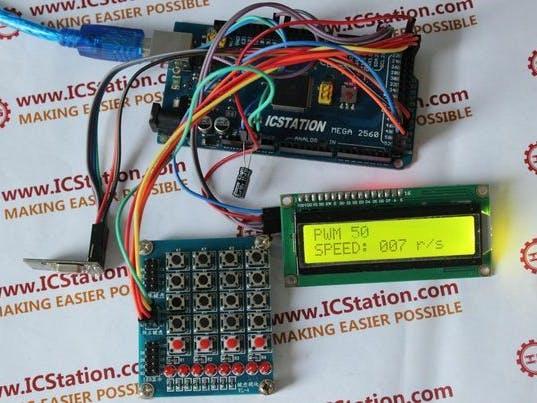 NRF24L01 Wireless Motor Speed Control System with Arduino