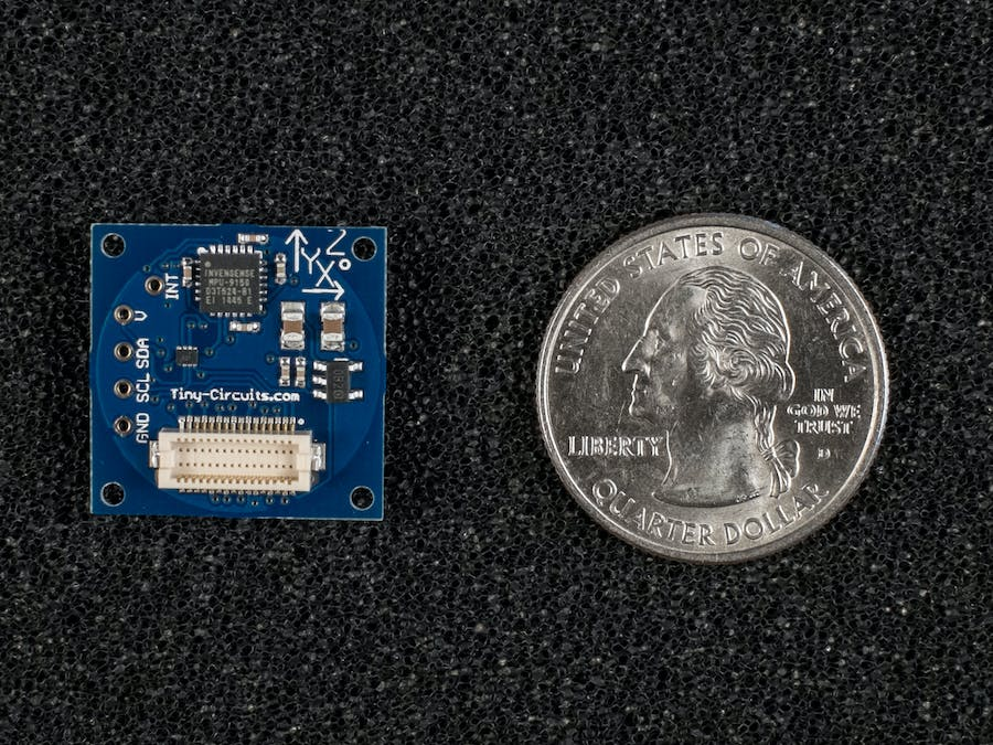 Getting Started - TinyShield 9-Axis IMU