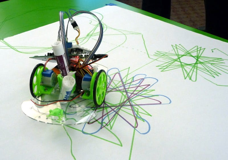 Low-cost workshop robot