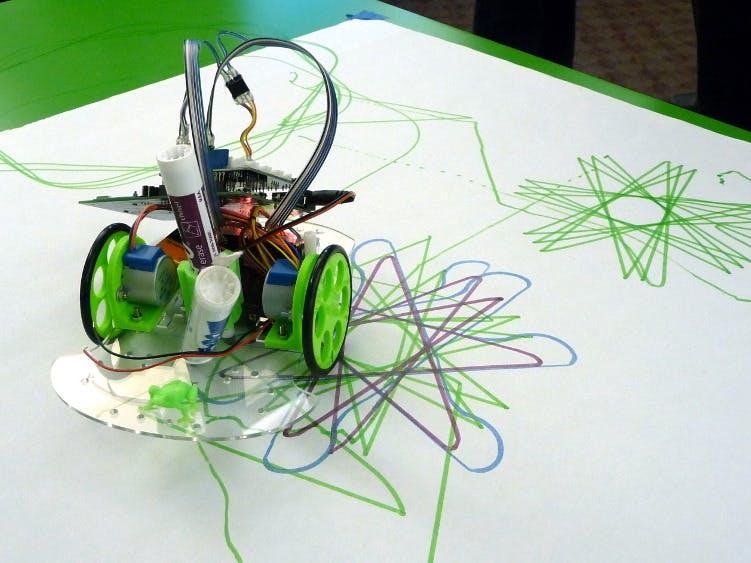 Low-cost workshop robot