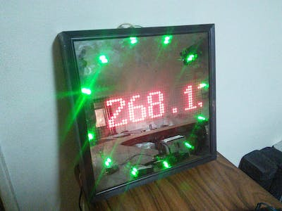 Real-Time Bitcoin Price Monitor Using Arduino and 1Sheeld