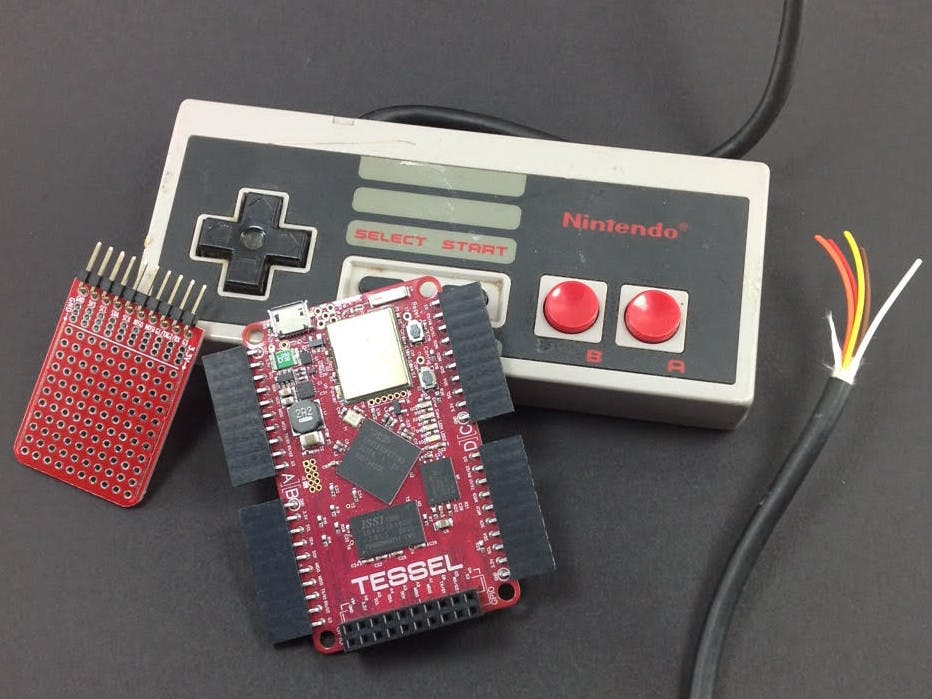 Tessel NES DIY Module