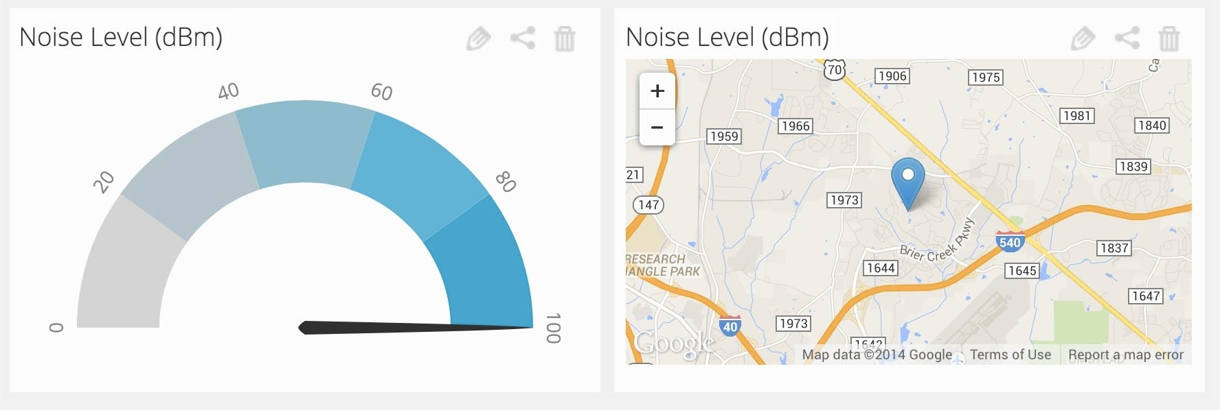 Location-based Noise Sensor using Tessel (No GPS!)
