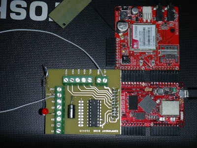 High current Tessel GPIO interface
