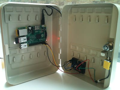 Safe Deposit Box with two-factor authentication