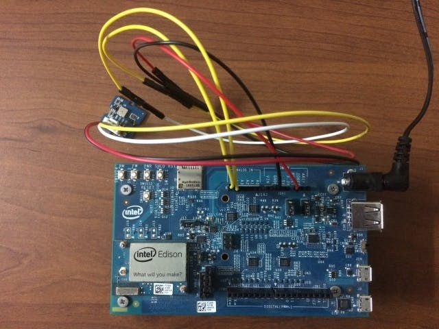 Intel Edison Weather Station