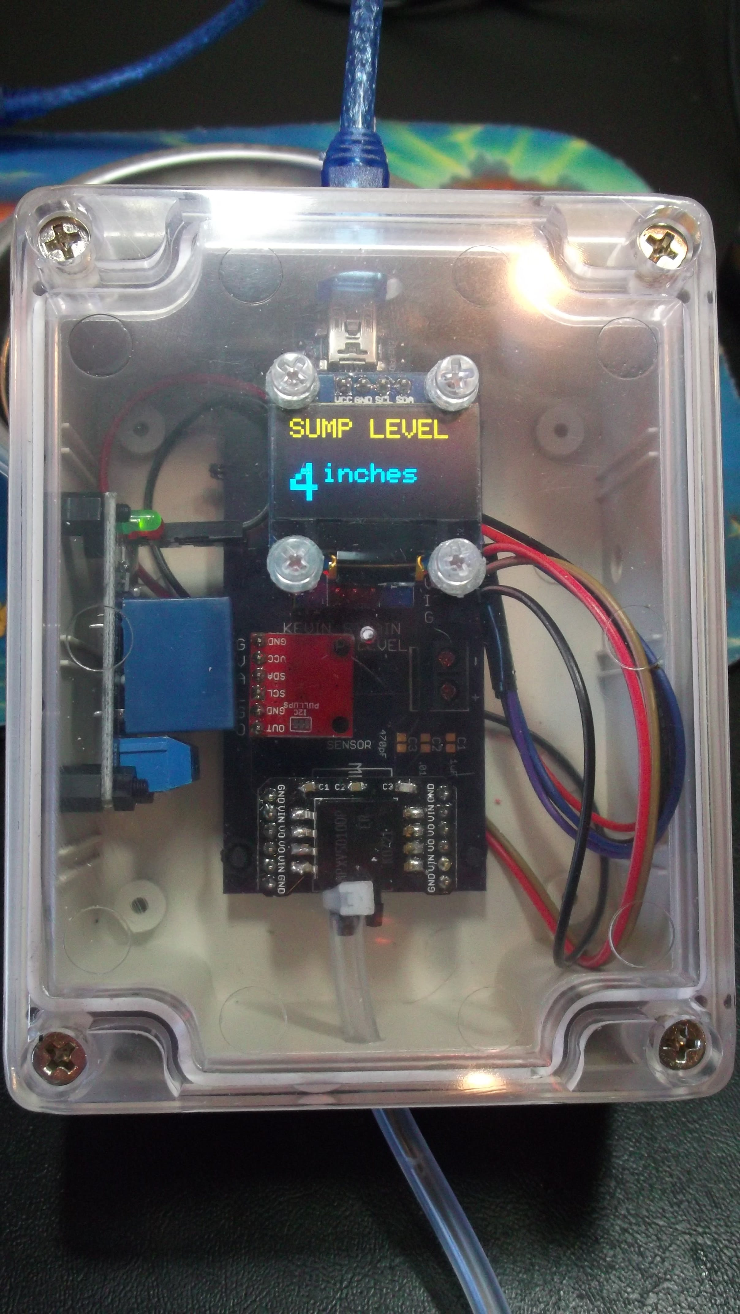 Sump Level Monitor