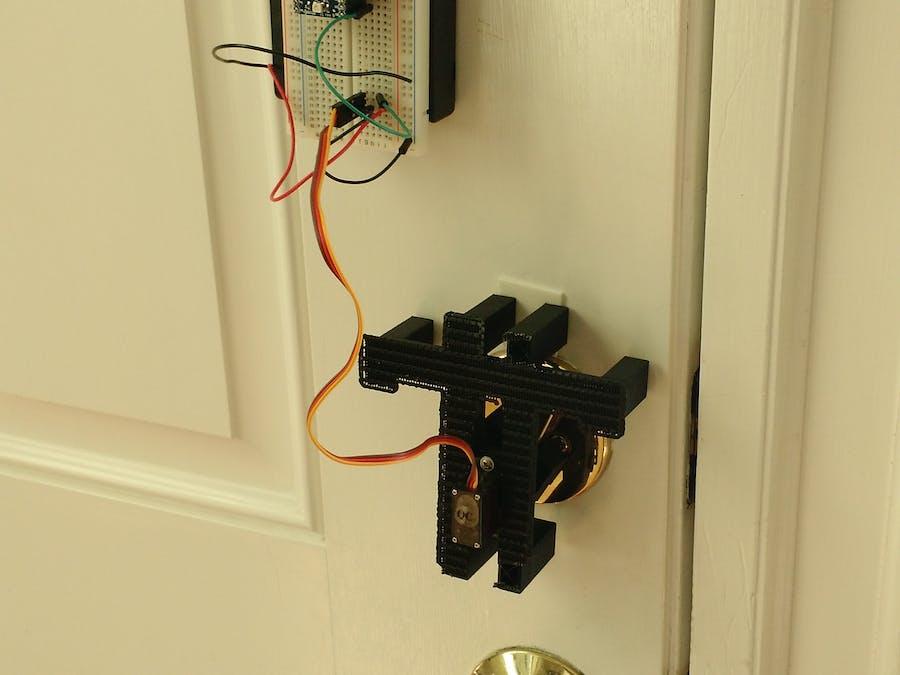 Spark/Bluz Powered Smart Lock