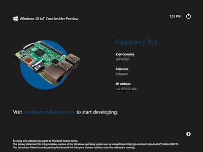 PowerShell To Connect To Device Running Windows 10 IoT Core