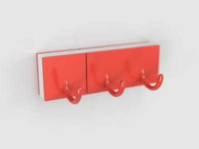 Lego Keyhook TinyDuino Wi-Fi Door Sensor