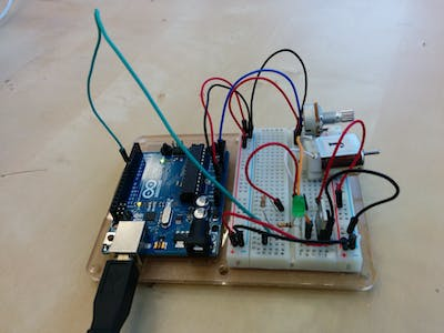 Motor Controlled with Arduino