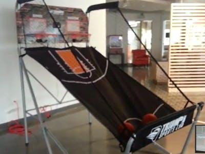 Spark Powered Basketball Arcade Game