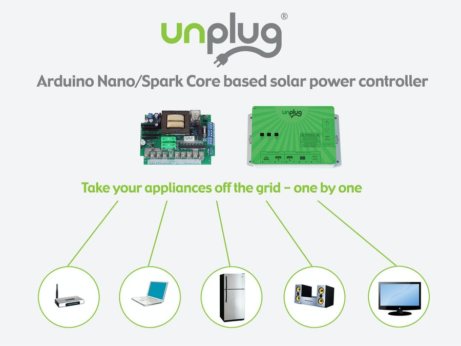 Solar UPS controller/automatic transfer switch - Arduino Project Hub