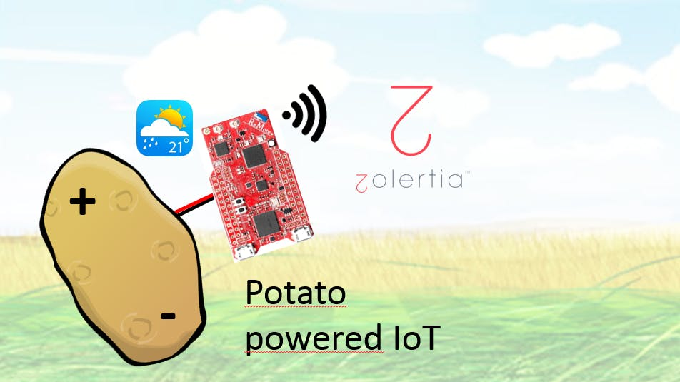 Potato-powered IoT
