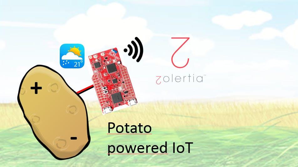 Potato-powered IoT