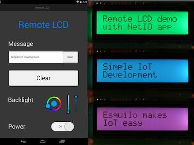 Remote LCD - Hackster io