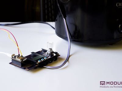 Modulo's Internet Connected Sous Vide Machine