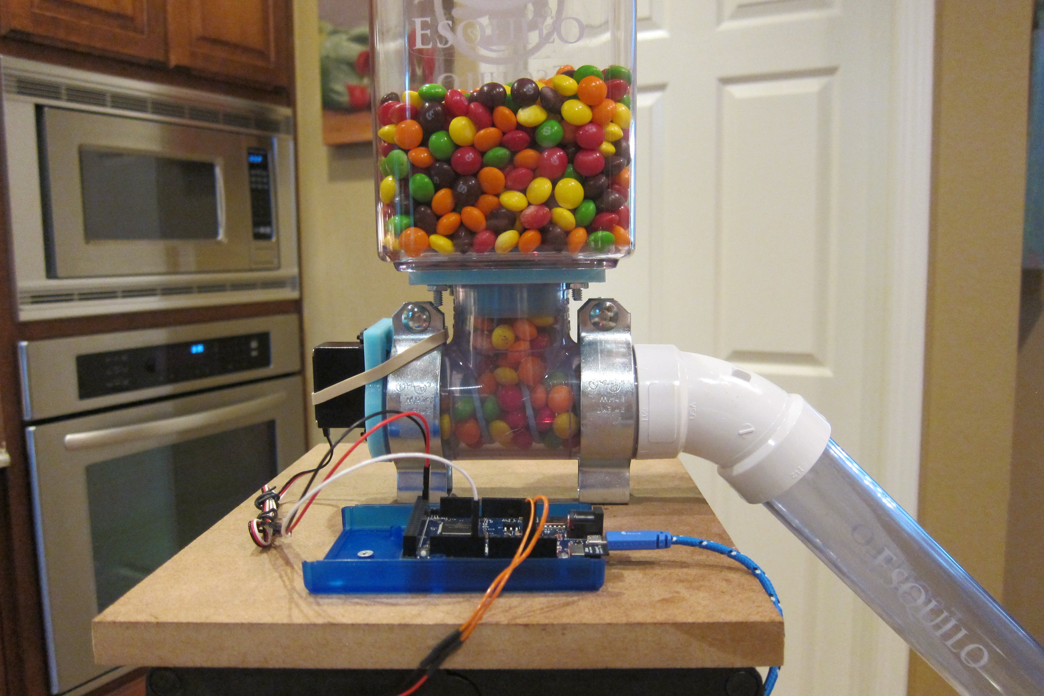 Internet-enabled Candy Dispenser