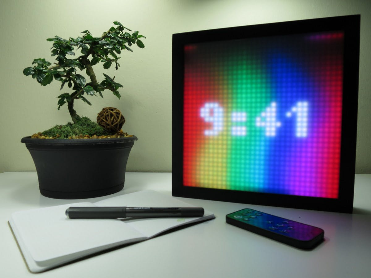 SmartMatrix - LED Art Display and Music Visualizer