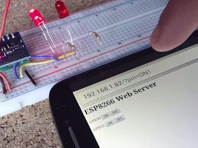ESP8266 Web Server (Without Arduino)