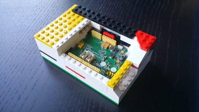 LinkIt ONE Lego Case Versions