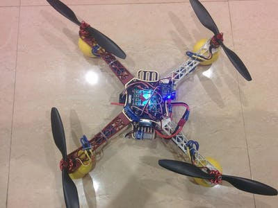 Quadcopter Using KK 2.15 Module