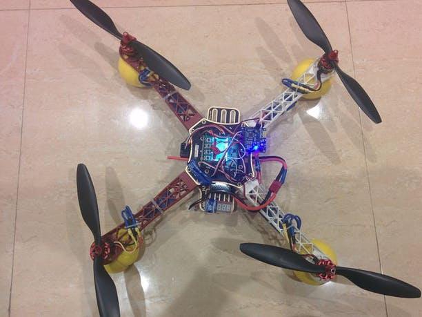Quadcopter Using KK 2 15 Module - Hackster io