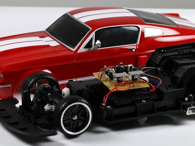 RC Car with Remote Arduino (Without external motor shield)